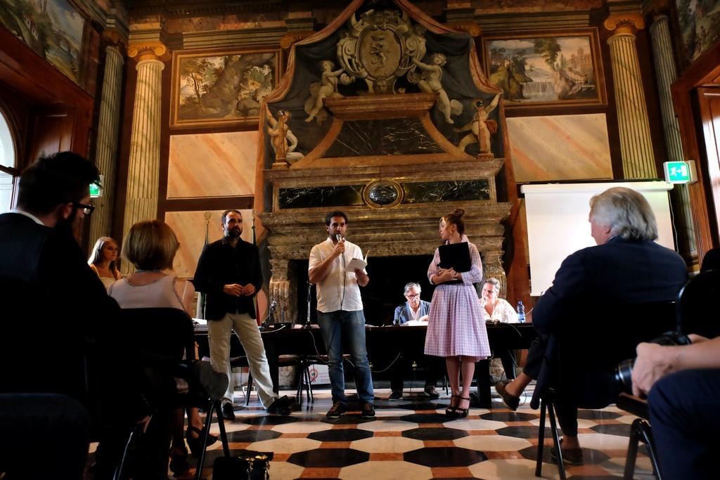 Davide Ferrari, finalista Poesia edita con Matteo Vercesi e Rossella Pretto