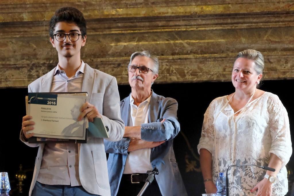 Gianluca Fùrnari finalista Poesia edita con Alberto Buscaglia e Maria Grazia Sassi