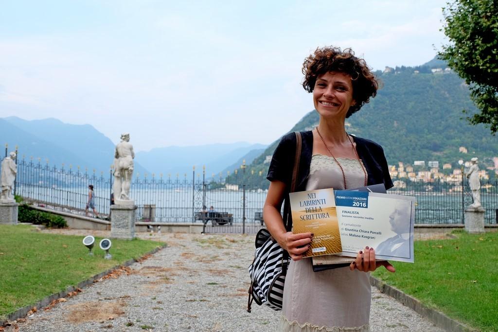 Malusa Kosgran, finalista per il racconto edito