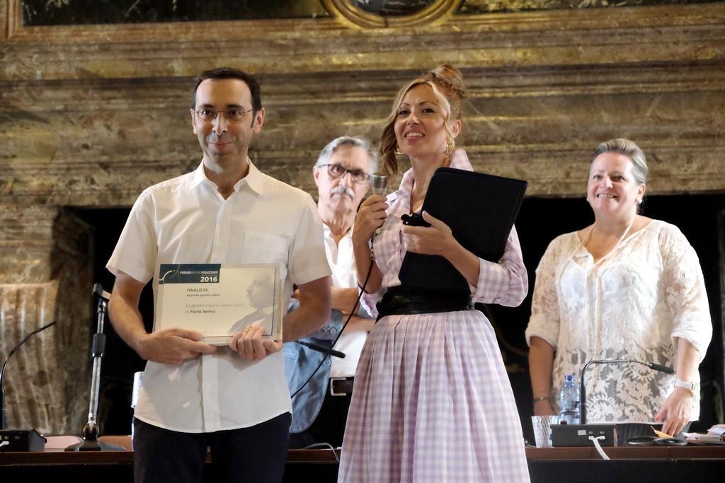Paolo Senna, finalista Poesia edita con Rossella Pretto