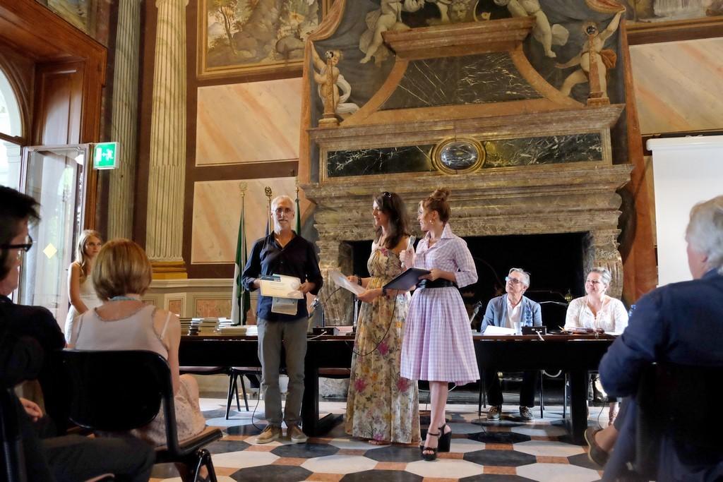Stefano Guglielmin, III classificato Racconto inedito, con Linda Terziroli e la Pretto