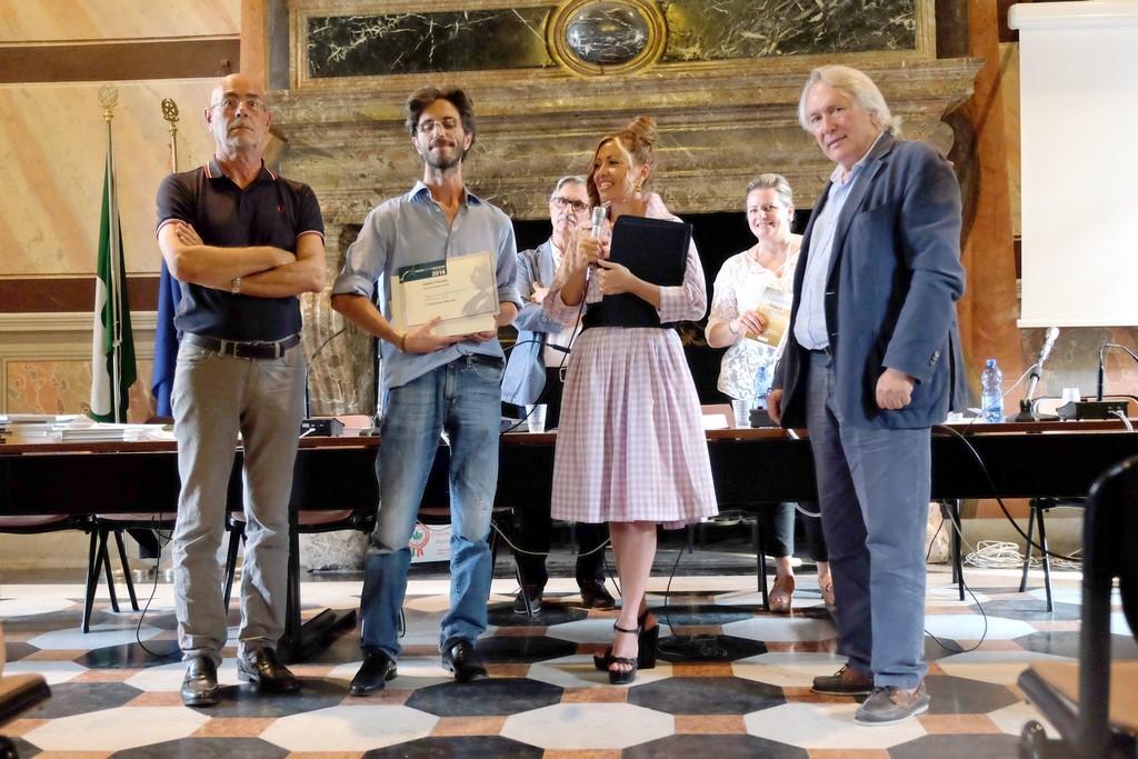 Valentino Ronchi, I premio Poesia edita con Mario Santagostini e Giuseppe Farina
