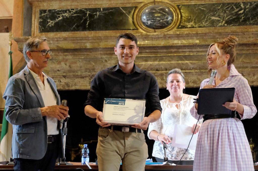 Vincenzo Attolico, III classificato Premio Qualità - Sezione Microletteratura